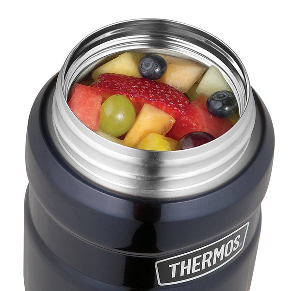 Thermos Stainless King Food Flask, Midnight Blue, 710 ml - Home & Living
