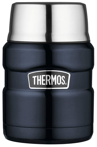 Thermos Stainless King Food Flask, Midnight Blue, 470 ml