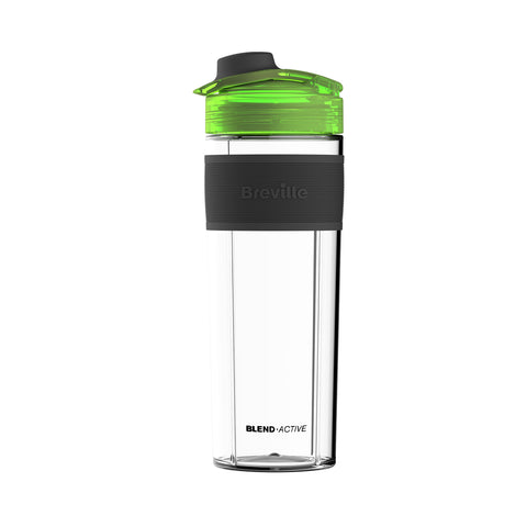 Breville VBL140 Blend-Active Pro Spare Bottle, 0.5 Litre, Clear/Green - Home & Living