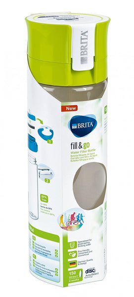 Brita Fill and Go Vital Bottle (Green) - Water Filters