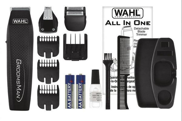 Wahl All-in-One Batterie-Bodytrimmer-Set Groomsman 5537-3016 - Personal Grooming