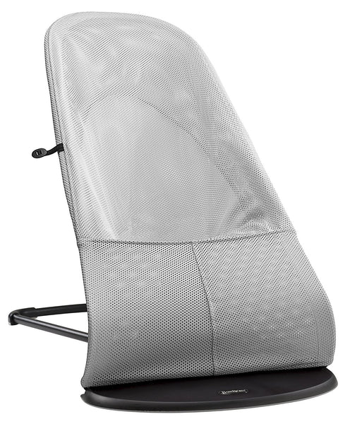 BABYBJORN Bouncer Balance Soft (Silver/White, Mesh) - Mother Baby & Kids