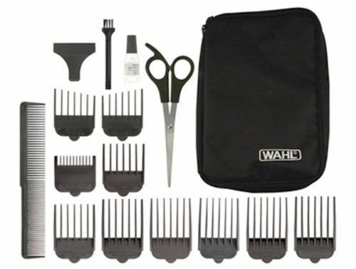 Wahl 9655-017 Charge Pro Mains Rechargeable Clipper, Black - Personal Grooming