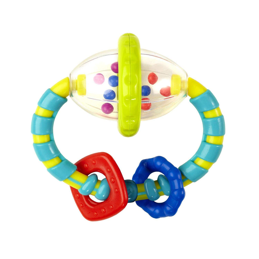 Bright Starts Grab and Spin Rattle 3+ Months - Mother Baby & Kids