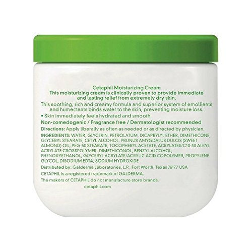 Cetaphil Dry Sensitive Skin Moisturizing Cream - Skincare