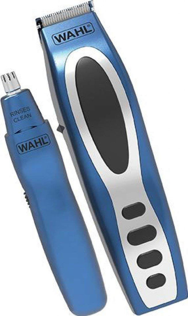 Wahl 5598-1517 Rechargeable Definer Trimmer Gift Set - Blue - Personal Grooming