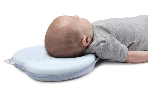 Babymoov Lovenest Original Baby Pillow and Head Support, Blue - Mother Baby & Kids