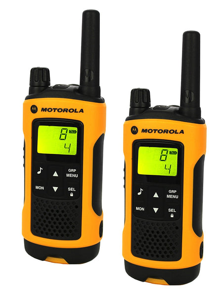 Motorola 10km TLKR T80 Extreme Twin Long Range Walkie Talkie Two-Way Radios IPX4 (For export only) - Walkie Talkies & Phones