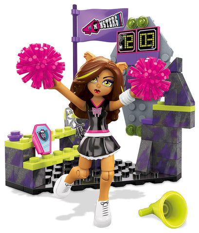 Mega Construx Monster High Clawdeen Wolf Fear Squad Building Kit