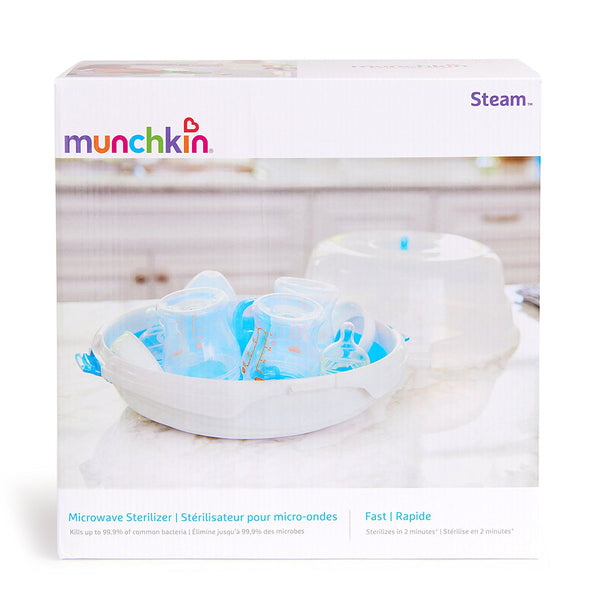 Munchkin Steam Guard Microwave Sterilizer - Mother Baby & Kids