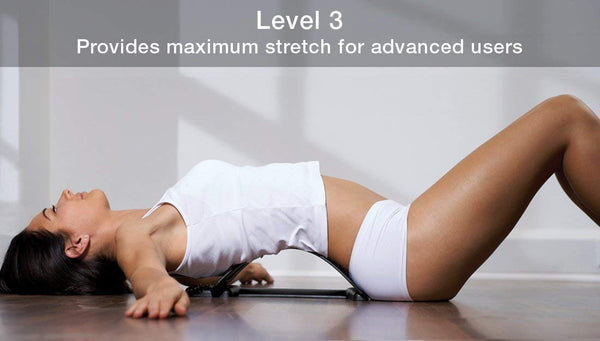 Bodi-Tek Back Magic Spine Alignment Arch and Lumbar Support Muscle Stretcher - Healthcare