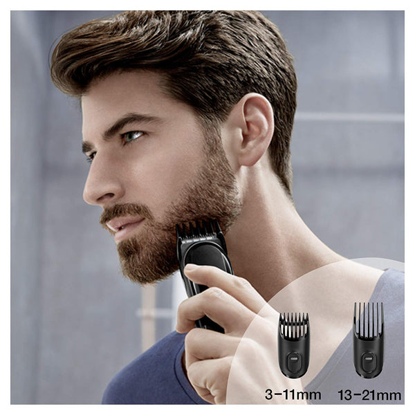 Braun MGK3020 6-in-1 Multi Grooming Kit, Face and Head Trimming Kit - Black - Personal Grooming
