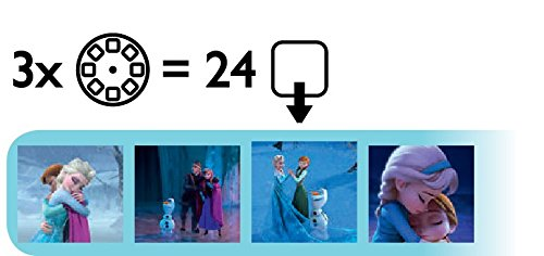 Philips Disney Frozen Children's Projector Torch & Night Light Integrated LED