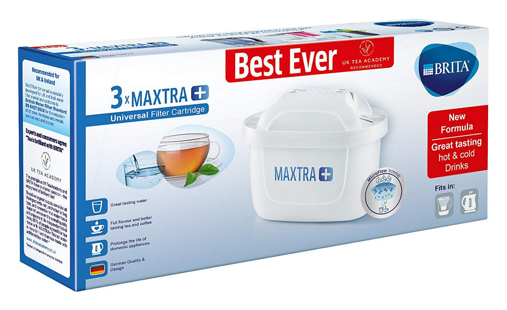 Brita Maxtra+ MicroFlow Catridges (Pack of 3) - Water Filters