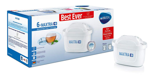 Brita Maxtra+ MicroFlow Catridges (Pack of 6) - Water Filters
