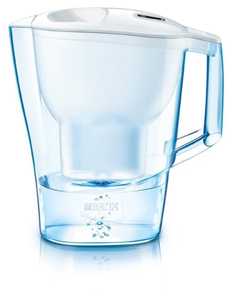 Brita Aluna 3.5L Water Jug with 1 Maxtra Micro Flow (White) - Water Filters