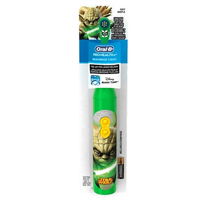 Oral-B Pro-Health Stages Star Wars Power Toothbrush (Green) - Dentalcare
