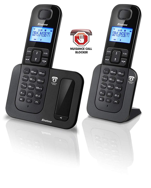 Binatone Shield 6015 Call Blocker Twin Home Telephone - Walkie Talkies & Phones