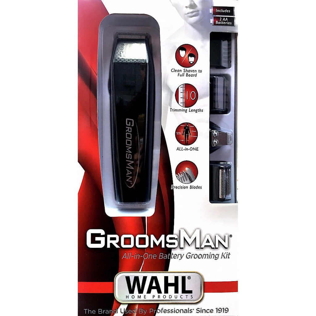 Wahl Groomsman All-in-One Battery Grooming Kit - Personal Grooming