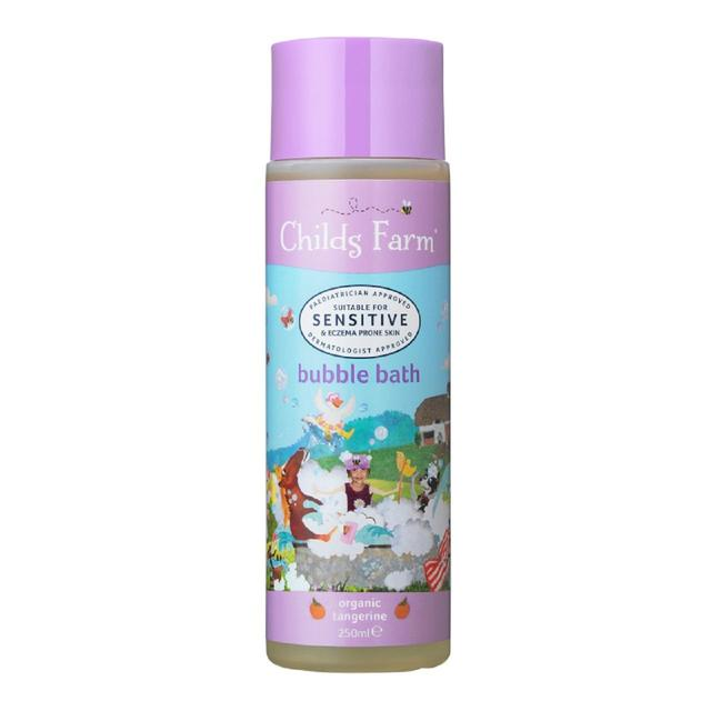 Childs Farm Bubble Bath Organic Tangerine, 250ml - Skincare