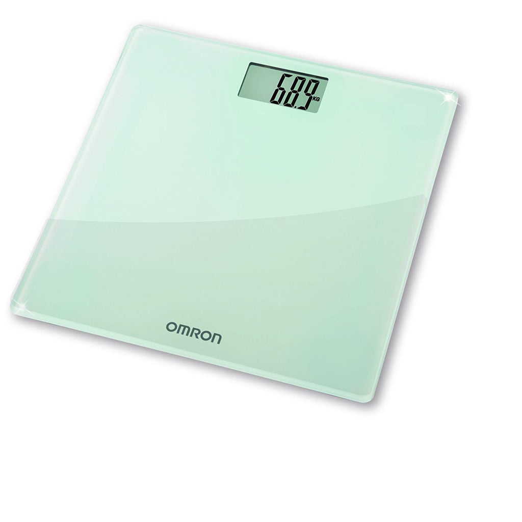 Omron Personal Digital Body Weight Bathroom Weighing Scales + LCD Display HN286