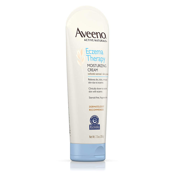 Aveeno Eczema Therapy Moisturizing Cream, 7.3 Ounce (3 pcs) - Skincare