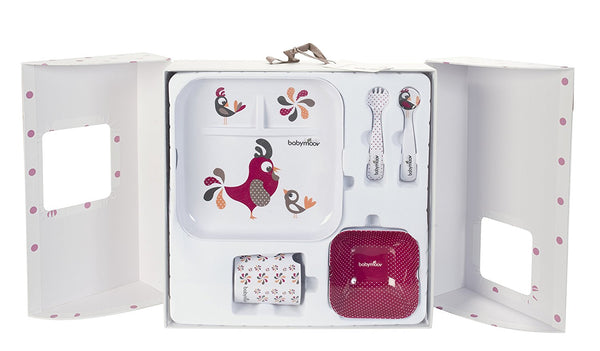 Babymoov Lovely Meal/Weaning Set (Bird) - Mother Baby & Kids
