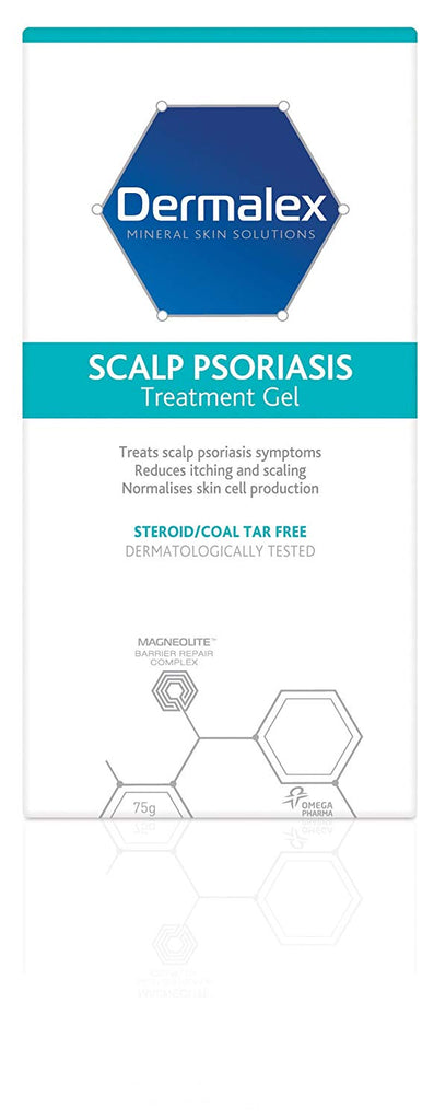 Dermalex Scalp Psoriasis Treatment Gel 75g - Beauty