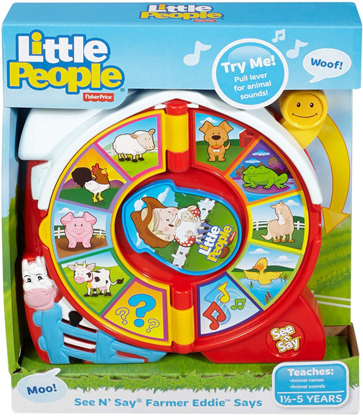 Fisher Price Little People See n' Say - Toys
