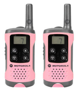 Motorola T41 Walkie Talkie Consumer Radio (Pink) (For export only)