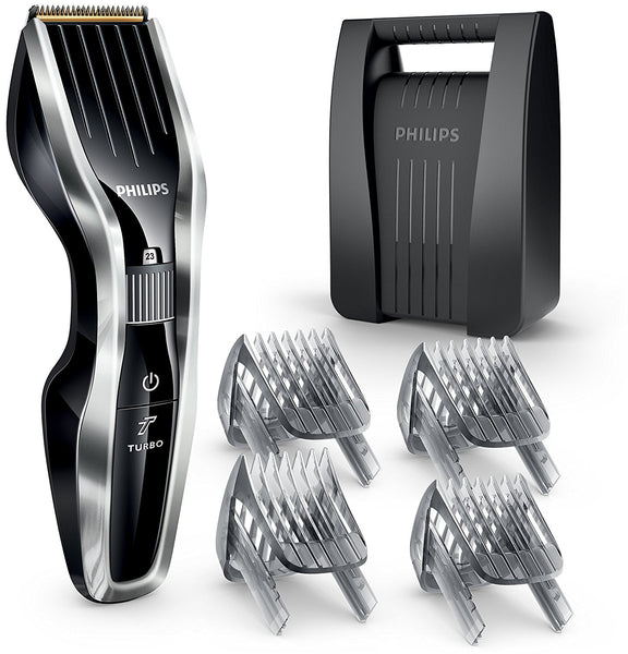 Philips Mens DualCut Technology Titanium Blade Hair Clipper Shaver HC5450/83 New - Personal Grooming