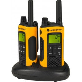 Motorola 10km TLKR T80 Extreme Twin Long Range Walkie Talkie Two-Way Radios IPX4 (For export only)