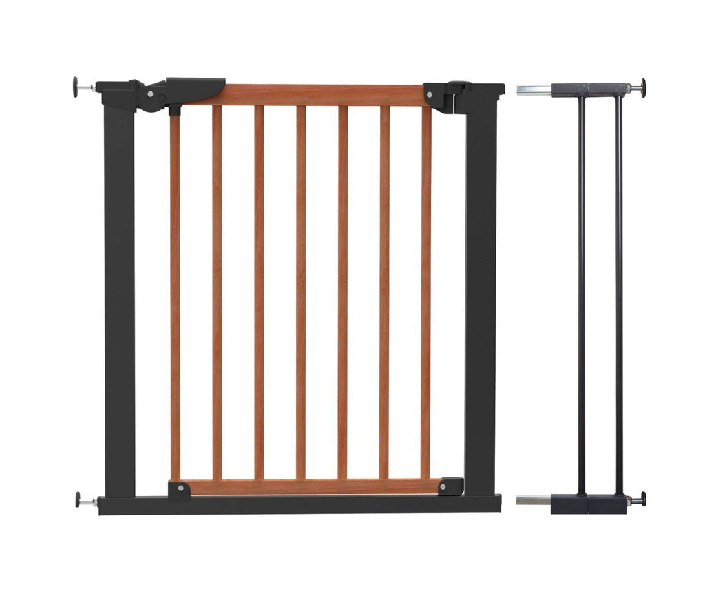 BabyDan Wide Wooden Pressure Gate (83.7-91.1 cm) - Home and Living