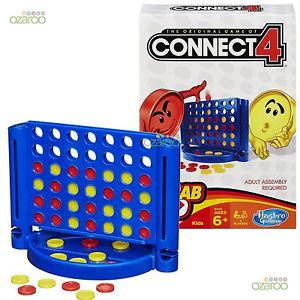 Hasbro Classic Board Game Connect 4 Family Party Fast Fun Challange 6+ B1000 - Toys