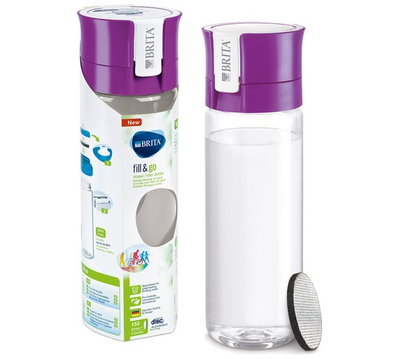 Brita Fill and Go Vital Bottle (Purple) - Water Filters