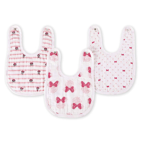 aden by aden + anais snap bib 3 pack - Minnie Mouse -