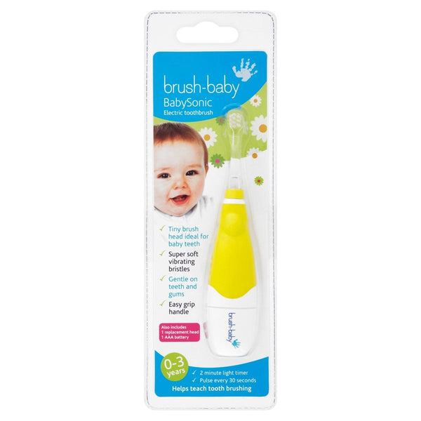 Brush-Baby Baby Sonic Electric Toothbrush - Mother Baby & Kids