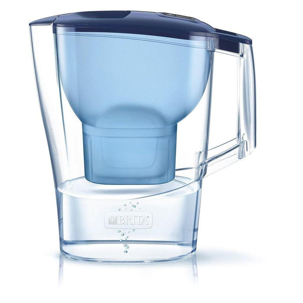 Brita Aluna 2.4L Water Jug with 1 Maxtra Micro Flow (Blue) - Water Filters