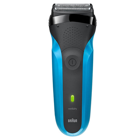 Braun Series 3 310s Wet & Dry Electric Shaver for Men / Rechargeable Electric Razor (Blue) - Personal Grooming
