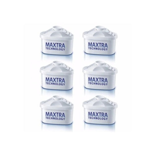 Brita Maxtra New Water Filter Jug Refills Genuine Replacement Cartridges x 6 - Water Filters