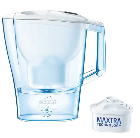 Brita Aluna XL Water Filter Jug 3.5L (White) - Water Filters