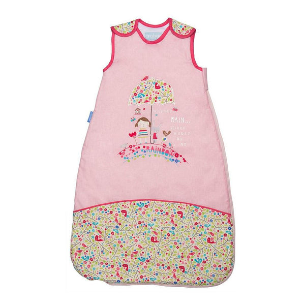 The Gro Company Bunny & Brolly Design 0-6m 1.0 Tog - Travel Grobag Baby Safe Sleeping Bag New - Mother Baby & Kids