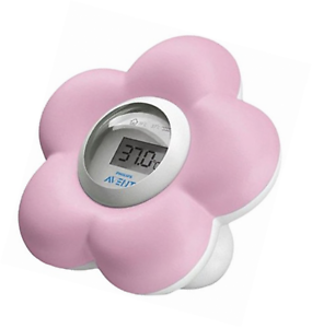 Avent SCH550/21 Bath and Room Thermometer Pink - Mother Baby & Kids