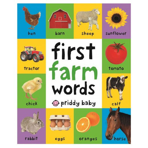 First Farm Words (First 100) - Mother Baby & Kids