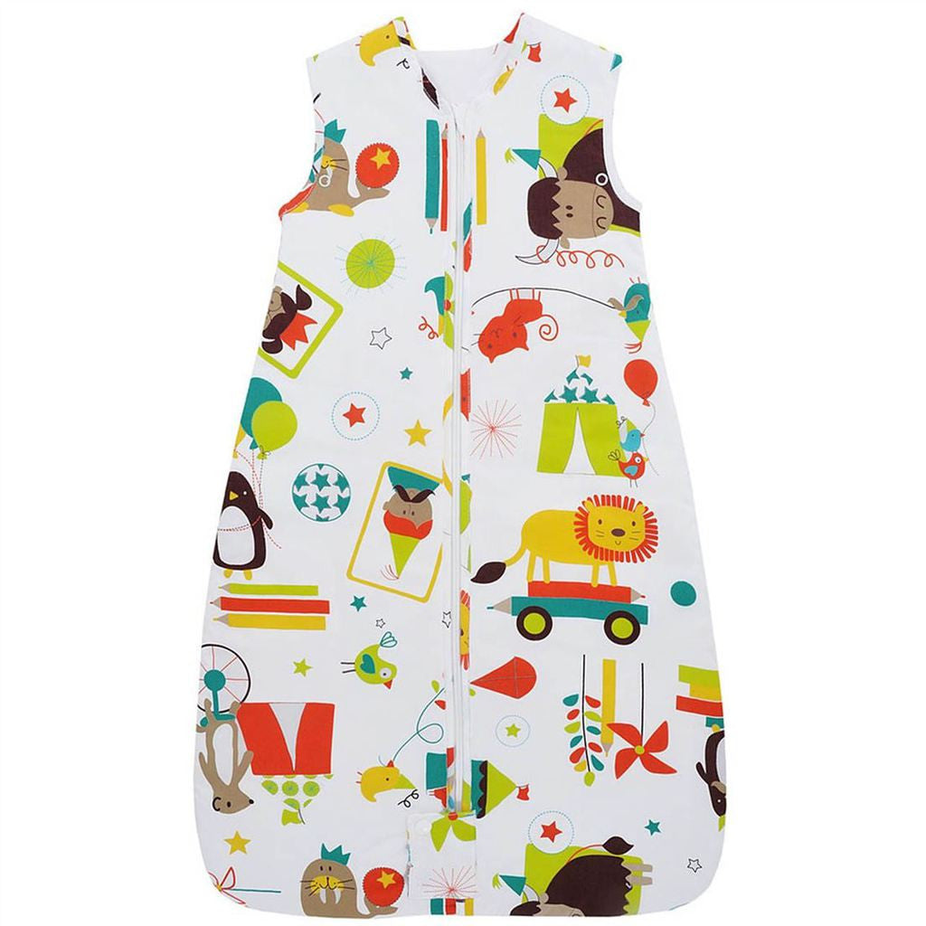 The Gro Company Carnival 2.5 Tog, 0-6 Month - Warm Travel Grobag Baby Safe Sleeping Bag - Mother Baby & Kids