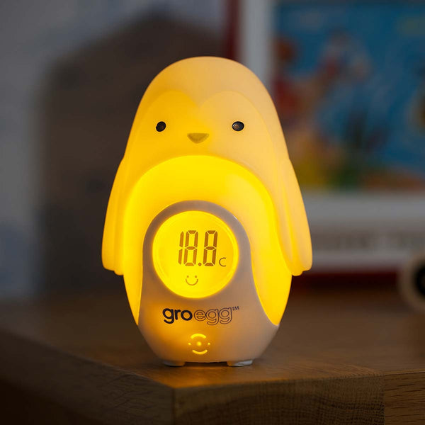 The Gro Company Gro-Egg Shell Thermometer Percy the Penguin� - Mother Baby & Kids