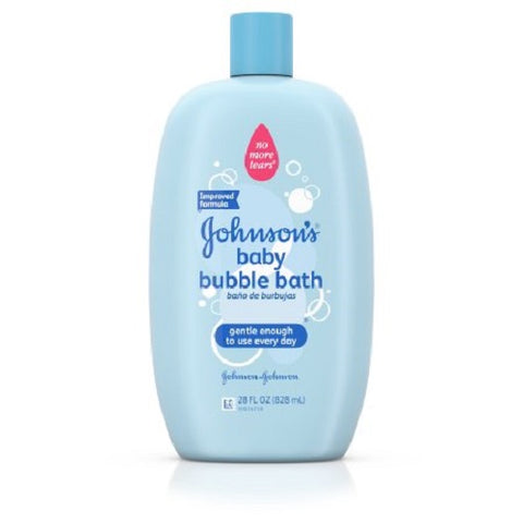 Johnson's Baby Bubble Bath & Wash Gentle Cleanser 28 Fl. Oz. - Skincare