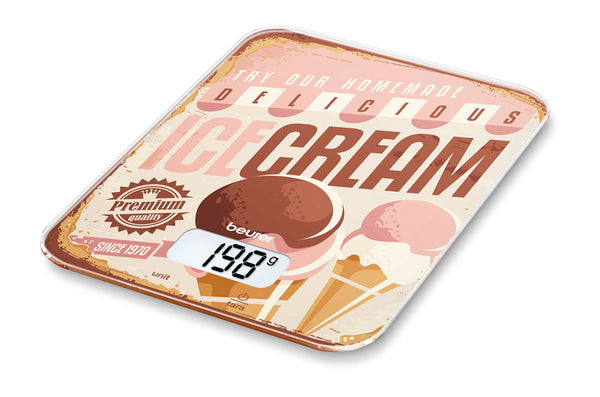 Beurer KS 19 Icecream Kitchen Scale - Home & Living