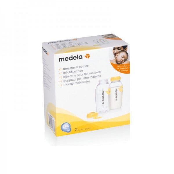 Medela 250ml Baby Breastmilk Bottles BPA Free 2 Pack - Mother Baby & Kids