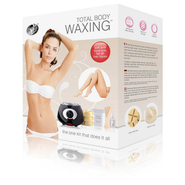 Rio Total Body Waxing Hair Removal Kit - Personal Grooming
